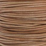 Natural Round Leather Cord
