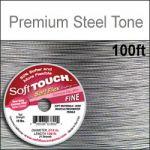 "100' .014""/27G/.35MM  SOFT TOUCH WIRE STEEL TONE 21 STD"